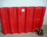 red-2 ASA Resin Roof Tile