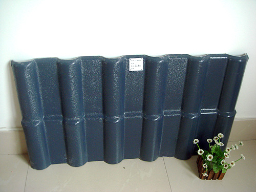 grey ASA Resin Roof Tile