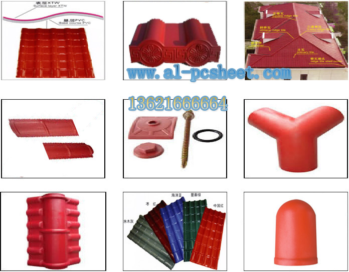 ASA resin roof accessories